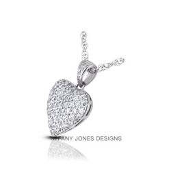 5 CT F VS1 Round Cut Natural Earth Mined Certified Diamonds 18k Gold Pendant