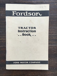 Fordson Antique Tractor Manual Ford A T 9n 8n John Deere Hit Miss Engine A B D G