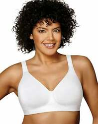 Playtex Wirefree Bra 18Hour 474C Cotton Stretch Ultimate Lift Support Adjustable $16.74