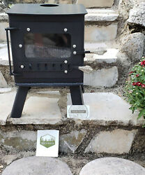 Mini Woodsman Wood Stove - Ideal for Tiny Home She Shed - Mint Cond. Never Used
