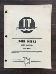 John Deere 6030 Antique Tractor I&T Manual Hit Miss Engine Case Oliver Farmall D