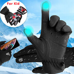 Winter Touch Screen Gloves Windproof Thermal Warm Men Women XLKids Boys Gloves $13.48