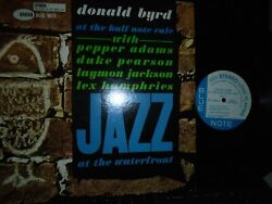 DONALD BYRD AT THE HALF NOTE VOL. BLUENOTE84060 RVG   LIBERTY BLUE