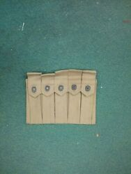 Original WWII 1942 Dated USMC 5 Pocket Thompson Mag Pouch