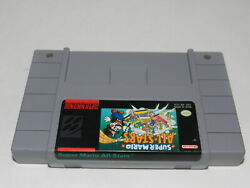 Super Mario All-Stars Super Nintendo SNES Video Game Cart