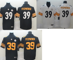 🔥Men's Pittsburgh Steelers 🔥 #39 Minkah Fitzpatrick 100th Jersey