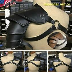 ⭐Medieval Leather Shoulder Armor Harness Warrior Gladiator Cosplay Accessories⭐
