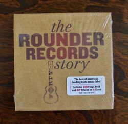 The Rounder Records Story [4CD Box] JD Crowe Norman Blake David Grisman SEALED