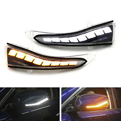 Side Mirror Sequential Blink LED Turn Signal Light For Infiniti Q50 Q70 Q60 QX30