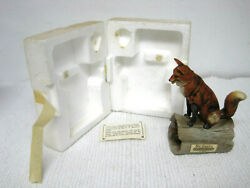 Vtg 1973 Ski Country Mini Red Fox Limited Edition Empty Bourbon Whiskey Decanter $34.99