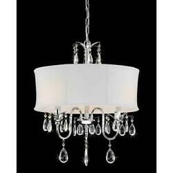 Metal Chandelier with Crystal [ID 2239080]