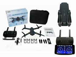 Drone Mini Foldable Pocket Quadcopter Wifi FPV Beginner 720p FlyDFly X Pro E58 $35.99