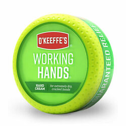 O'Keeffe's Industrial Strength Hardworking Hand Cream for Dry and Chapped Skin