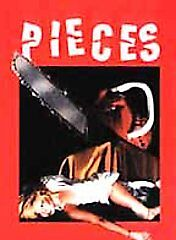 Pieces DVD RARE Horror Out of Princt Hard to Find