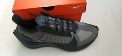 Nike Zoom Gravity Black Anthracite Pewter Men's Running Race Shoes sz 9