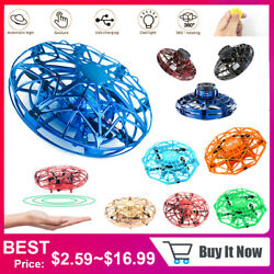 Mini Flying Drone Kids Hand Motion Smart Control UFO Ball Aircraft Funny Toy $14.29