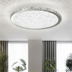 Modern Crystal Ceiling Light LED Pendant Lamp Flush Mount Fixtures Chandelier $89.99