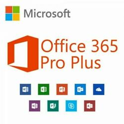 Microsoft Office 365 ProPlus Lifetime Account ✅  5 Devices  5TB ✅ OneDrive