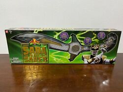Power Rangers Legacy Saba The Talking Saber Sword Full Size White Ranger - New