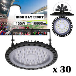 30x100W LED High Bay Warehouse Light Industrial Factory Commercial Shed Gym Lamp $559.99