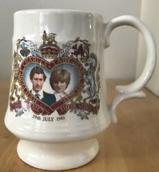 Commemorative Mug 29th July 1981 Marraige of Charles and Lady Diana Spencer