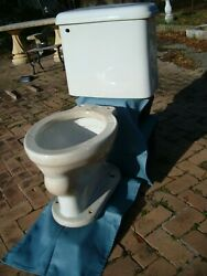 Art Deco Thomas Maddocks Sons White Low Wall Mount Maderno 1919 Toilet