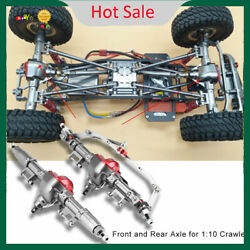 Metal Front amp; Rear Axle RC Parts for SCX10 AXIAL RC4WD D90 1:10 Crawler RC Car C $103.88