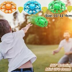 Mini Drones 360° Rotating Aircraft Smart UFO Helicopter for Kids Flying Toys $18.52