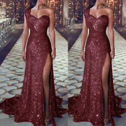 Maxi Dress Evening Long Cocktail Women Formal Sexy Ball Gown Prom Wedding Party $10.67