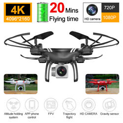 Drone x Pro Foldable Quadcopter Drone 4K 1080P Camera| WiFi FPV GPS 3D RC 6-axis $71.67