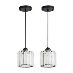 2x Chandelier Crystal Kitchen Island Lamp Bar Pendant Light Modern Ceiling Lamp $34.90