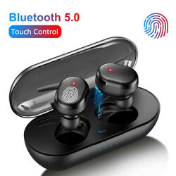 TWS Bluetooth 5.0 Wireless Earphones Stereo Headset Mini In Ear For iOS Android $6.59