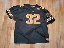 Colosseum Mens Oregon State Beavers Jersey Embroidered Short Sleeve Black XXL $30.00