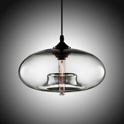 Modern Glass Pendant Colored Hanging Ceiling Light Island Chandelier Lamp $38.98