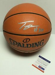 Troy Daniels Signed Spalding Replica Game Basketball *Lakers PSA 8A85247 $97.46