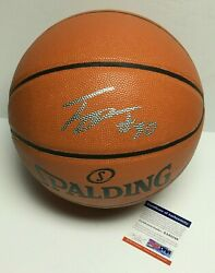 Troy Daniels Signed Spalding Replica Game Basketball *Lakers PSA 8A85248 $97.46