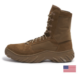 OAKLEY 8quot; FIELD ASSAULT COYOTE AR 670 1 MILITARY BOOTS 11194 86W ALL SIZES $169.95