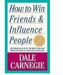 How to Win Friends amp; Influence People by Carnegie Dale $4.28