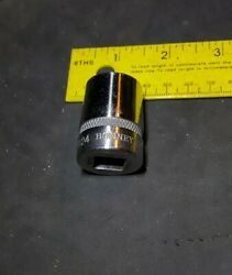 "Bonney A24 3 4"" 12 Point 1 2"" Drive Knurled Vintage Socket Rare Old CV Tool NICE $6.85"