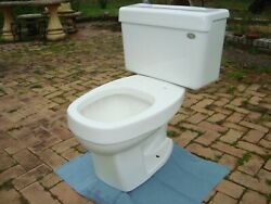 Retro Eljer Emblem White Oblong Toilet Dated 9 30 1999
