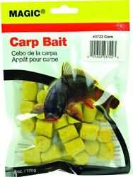 Magic 3722 Carp Bait Preformed 6 oz Bag Yellow And Corn $8.32
