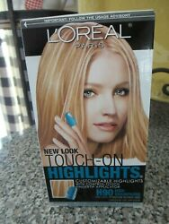 Loreal Paris Touch on Highlights Hair Color H90 Iced Champagne Painting Blonde