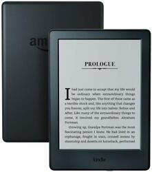 Kindle E reader 8th Generation 6\quot; Display Wi Fi Built In Audible Black $49.99