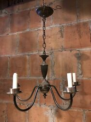 Vintage Five Arm Candelabra Chandelier $89.00