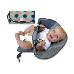 3 in 1 Baby Waterproof Diaper Home Travel Changing Mat Pad Organizer Bag $12.56