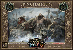 A Song of Ice and Fire Miniature Game Free Folk Skinchangers NIB $28.00