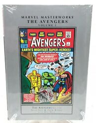 Avengers Volume 1 Collects 1 10 Lee Kirby Marvel Masterworks HC New Sealed $19.95