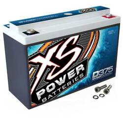 NEW XS POWER 600W 12V AGM BATTERY 800A MAX AMPS D375 $112.67