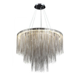 Avenue Lighting HF2222-CH Fountain Ave Chandelier Polished Nickel