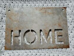 Home Wall Art Plaque Sign Farmhouse Country Rustic Home Decor 15 x 10 in. $11.10